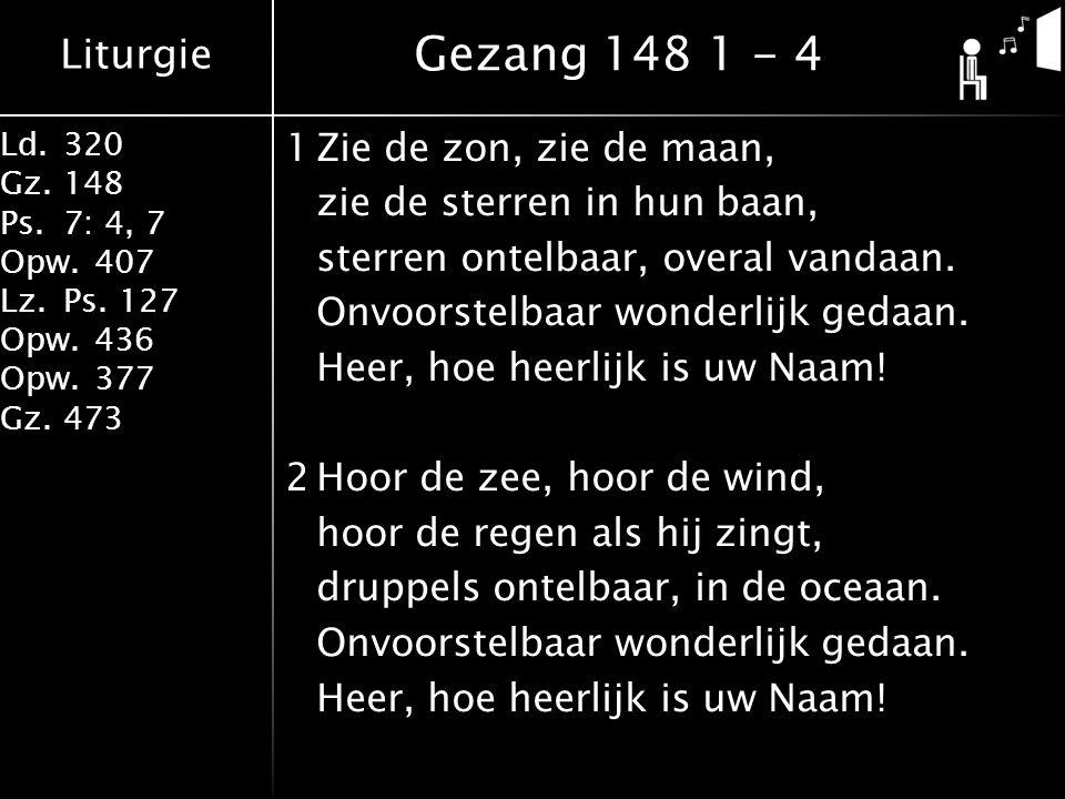 Gezang 148 1 - 4