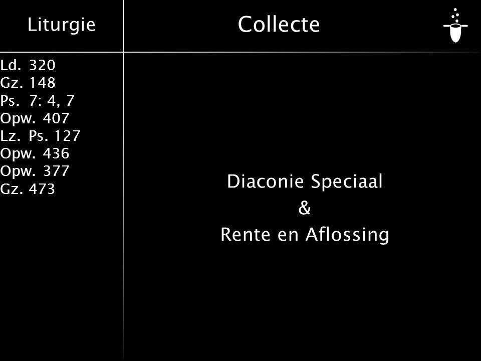 Diaconie Speciaal & Rente en Aflossing