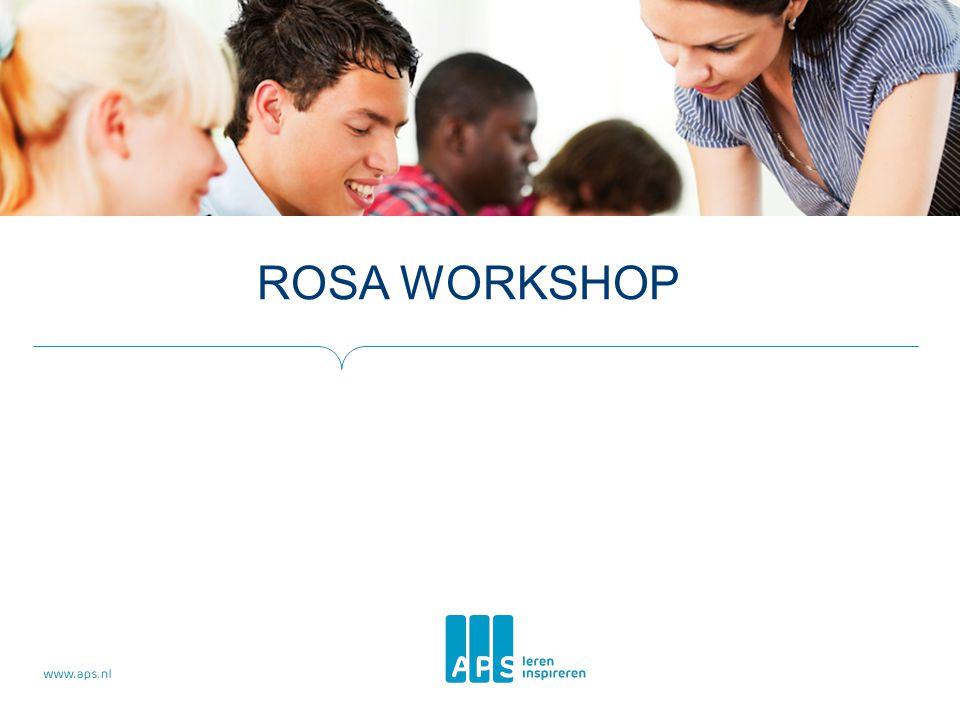 Rosa workshop