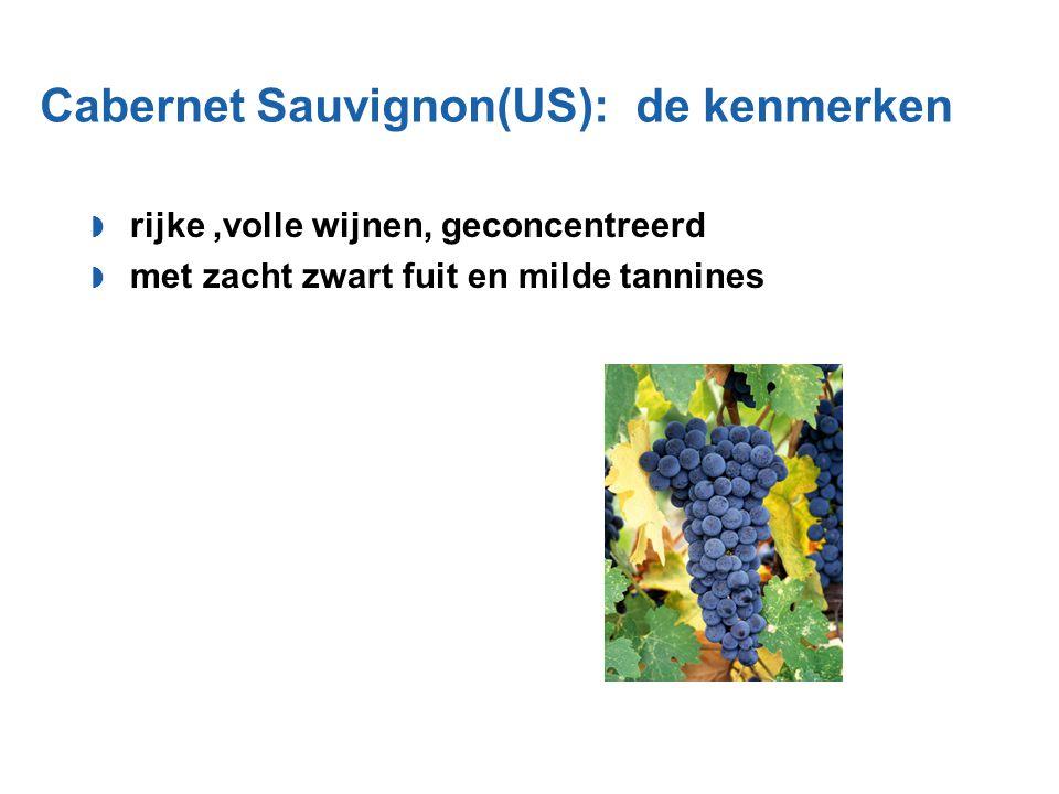 Cabernet Sauvignon(US): de kenmerken