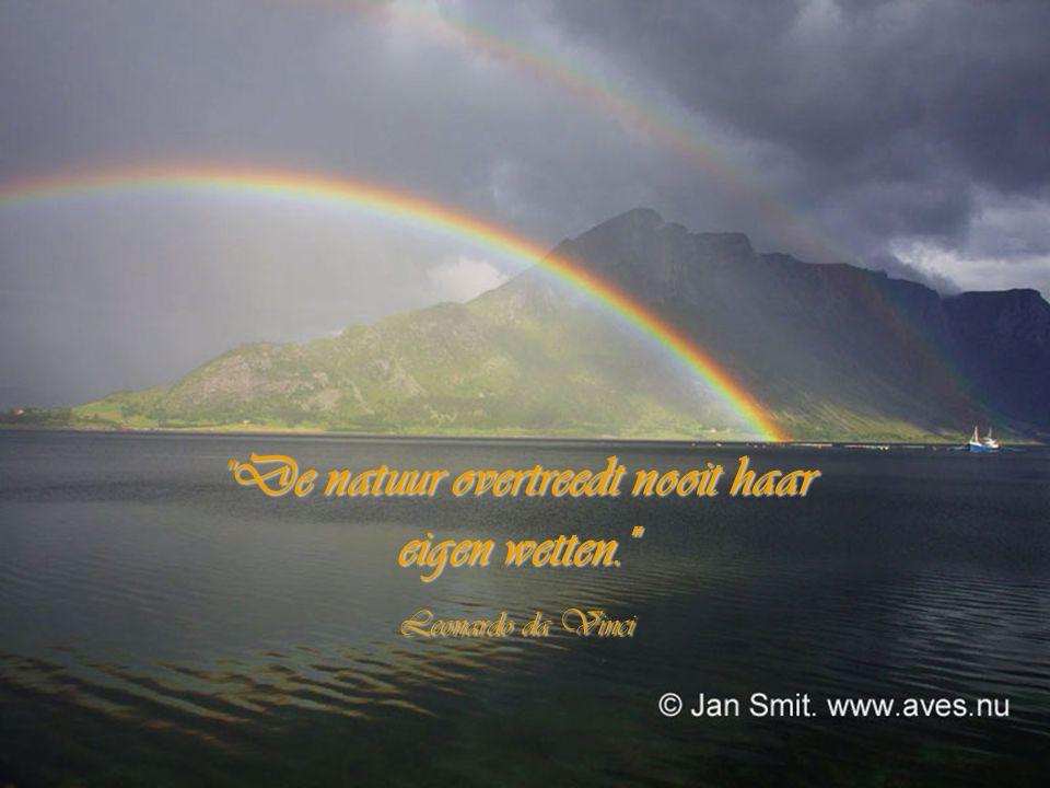 De natuur overtreedt nooit haar eigen wetten.
