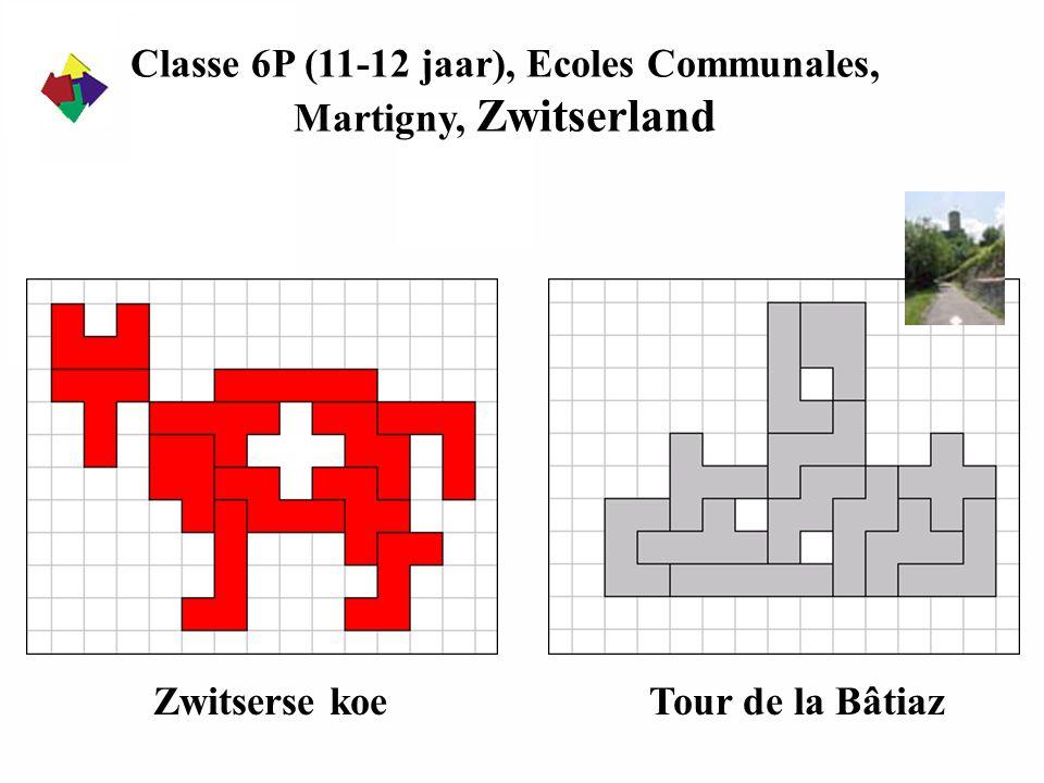 Classe 6P (11-12 jaar), Ecoles Communales,