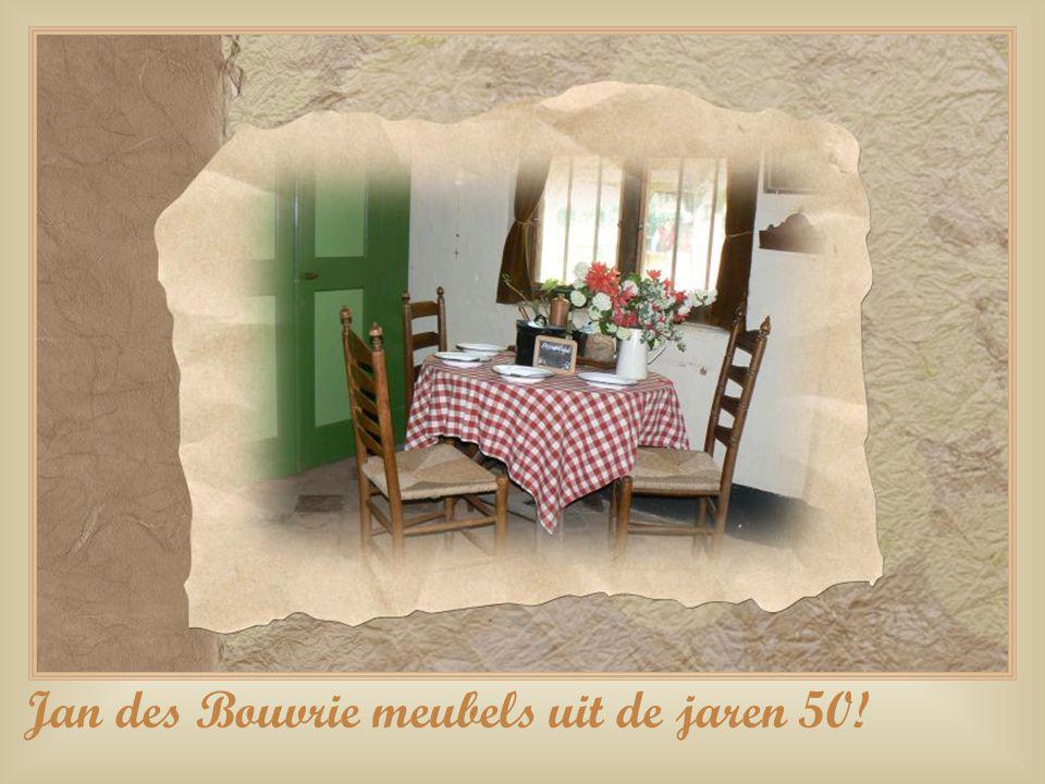 Jan des Bouvrie meubels uit de jaren 50!