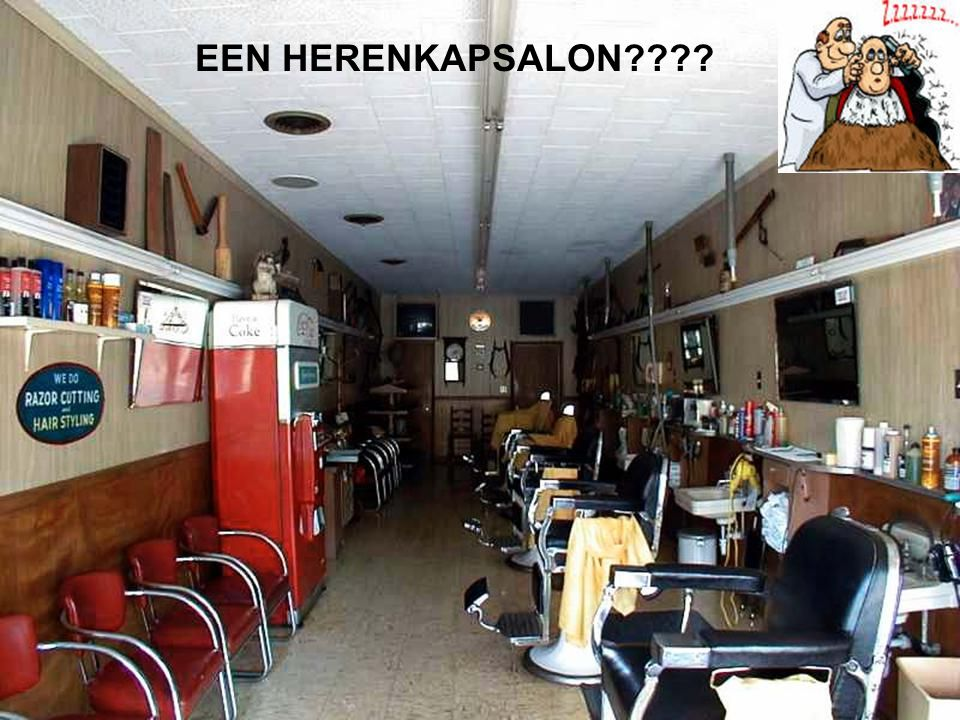 EEN HERENKAPSALON