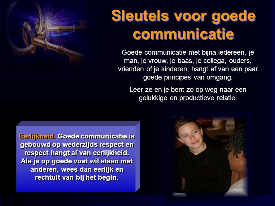 Sleutels voor goede communicatie