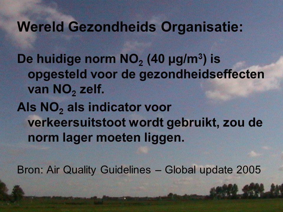 Wereld Gezondheids Organisatie: