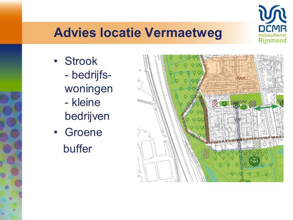 Advies locatie Vermaetweg