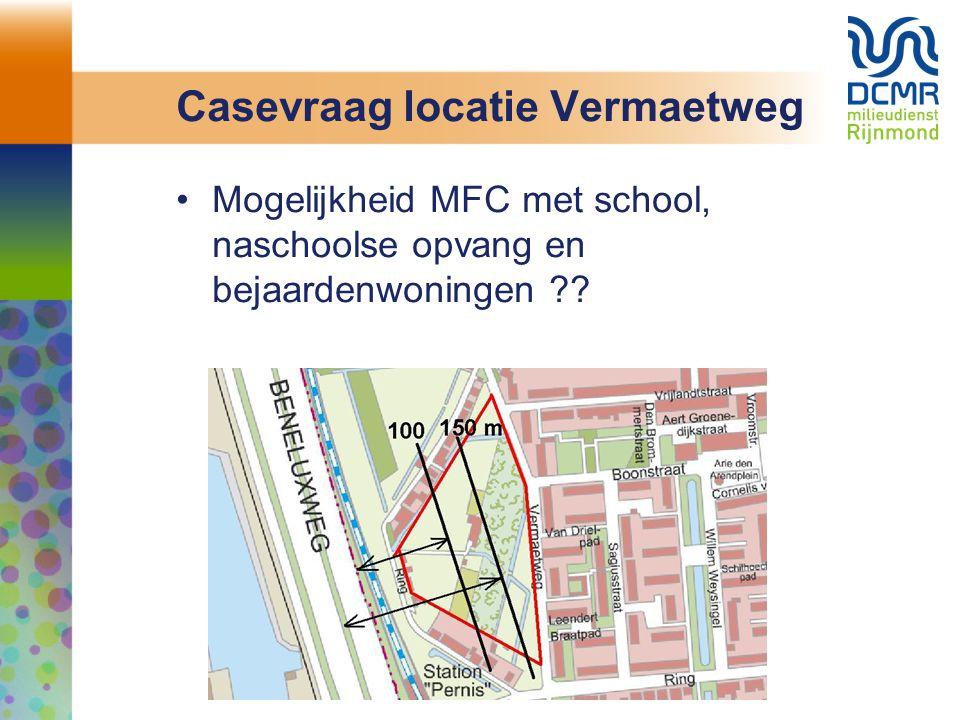 Casevraag locatie Vermaetweg