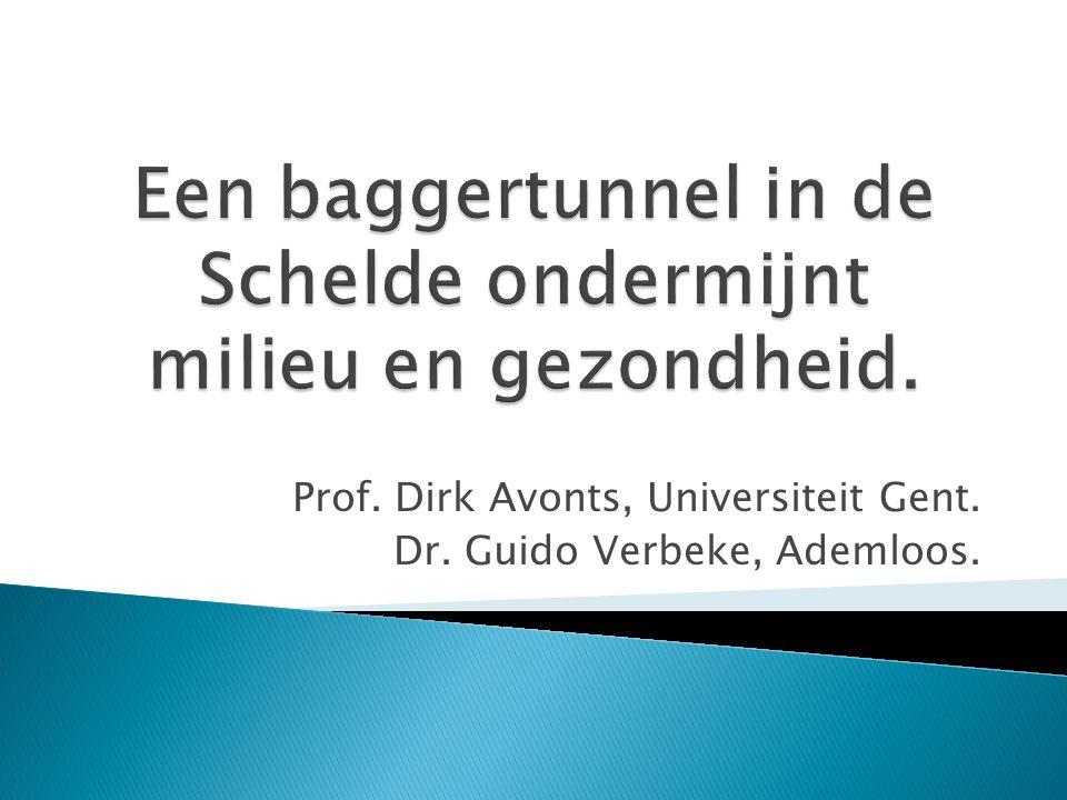 Een baggertunnel in de Schelde ondermijnt milieu en gezondheid.
