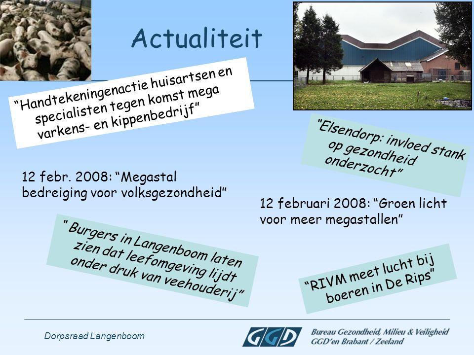 Actualiteit Handtekeningenactie huisartsen en specialisten tegen komst mega varkens- en kippenbedrijf