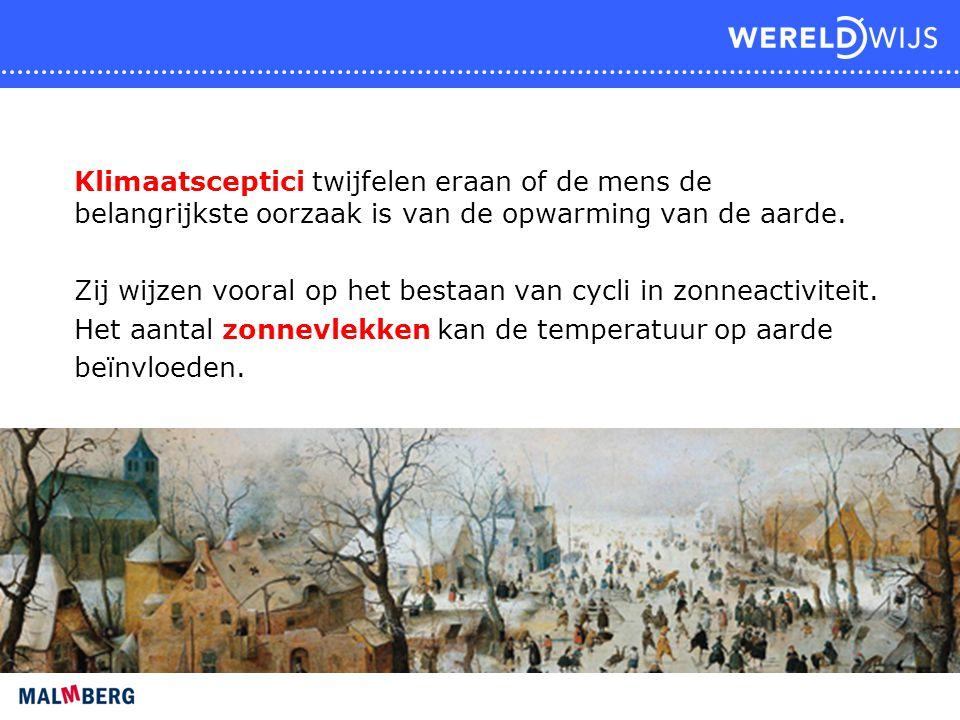 Klimaatsceptici twijfelen eraan of de mens de belangrijkste oorzaak is van de opwarming van de aarde.