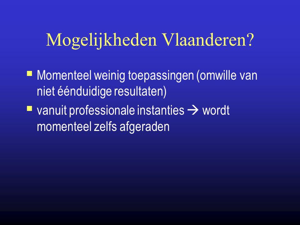Mogelijkheden Vlaanderen