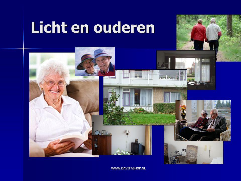 Licht en ouderen WWW.DAVITASHOP.NL