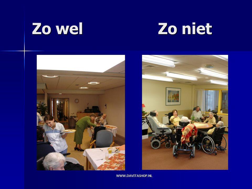 Zo wel Zo niet WWW.DAVITASHOP.NL
