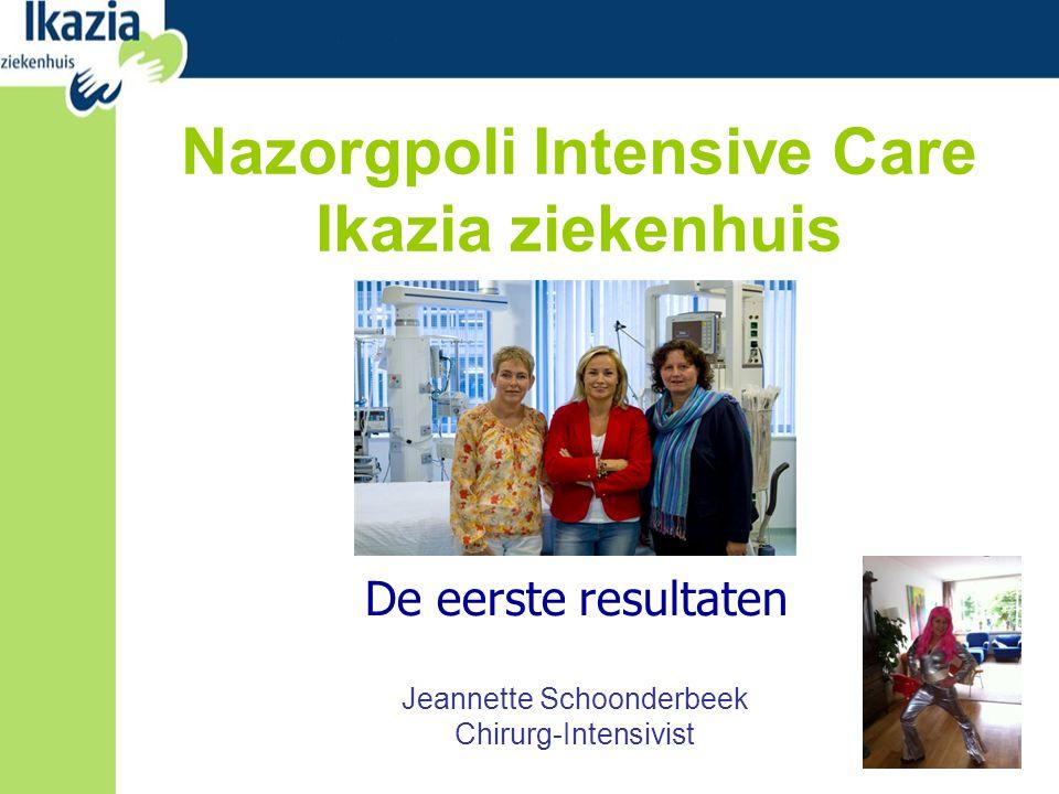Nazorgpoli Intensive Care Ikazia ziekenhuis