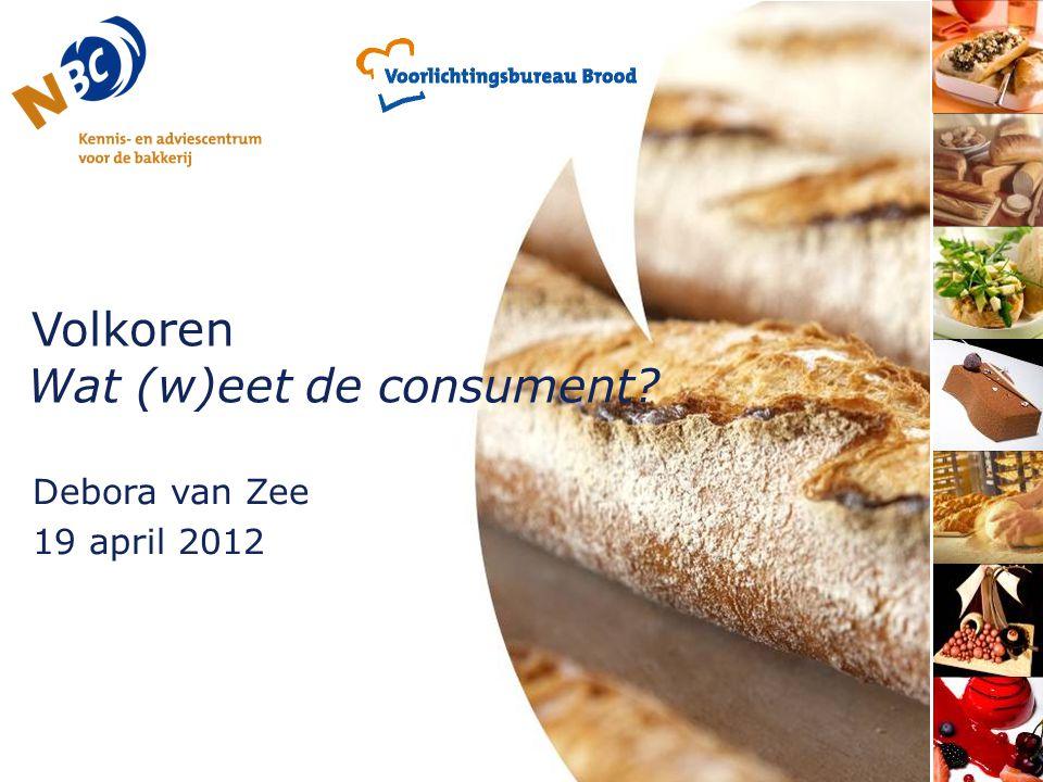 Volkoren Wat (w)eet de consument
