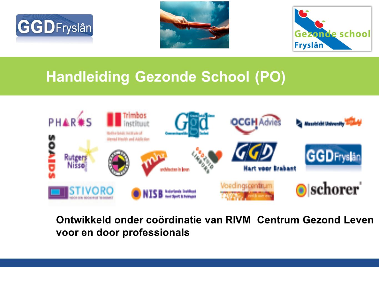 Handleiding Gezonde School (PO)