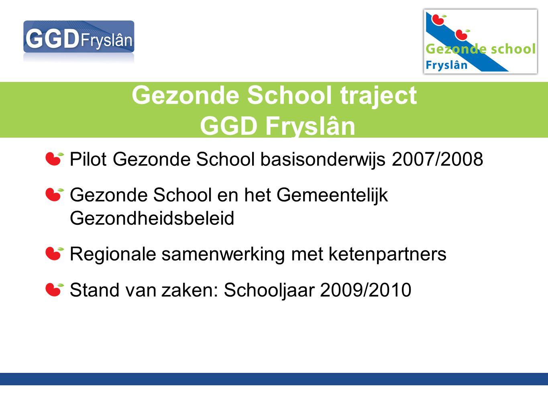 Gezonde School traject GGD Fryslân