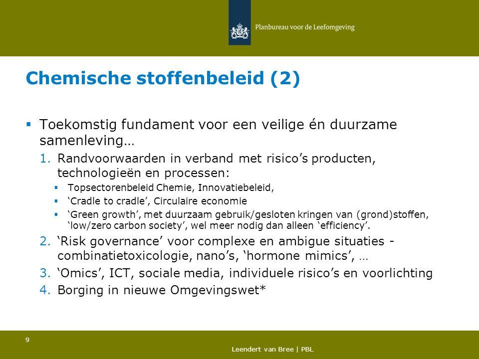 Chemische stoffenbeleid (2)