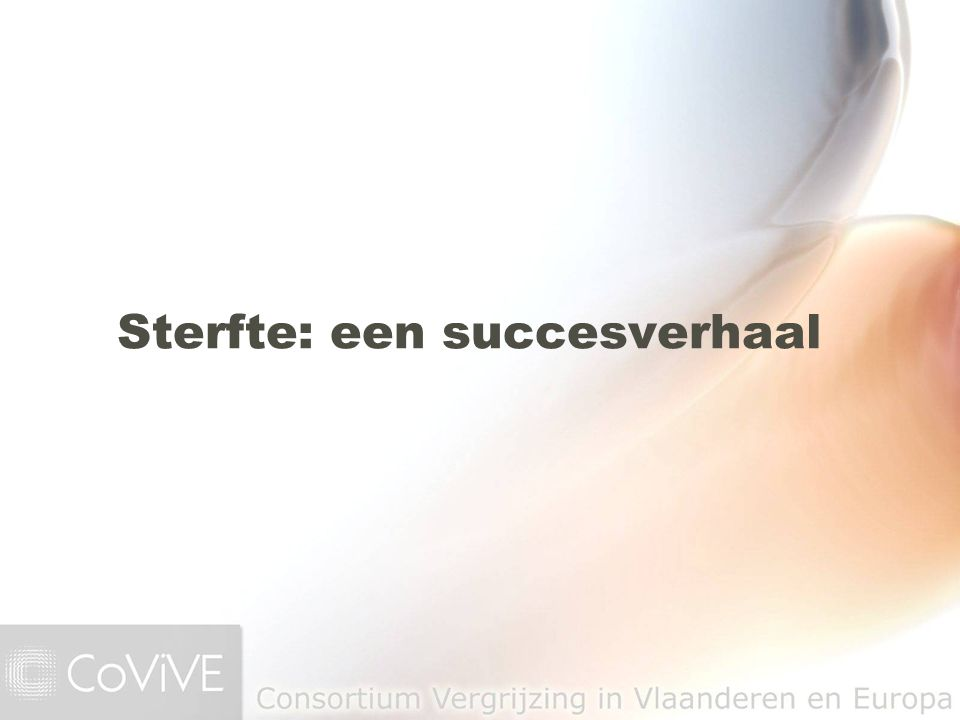 Sterfte: een succesverhaal