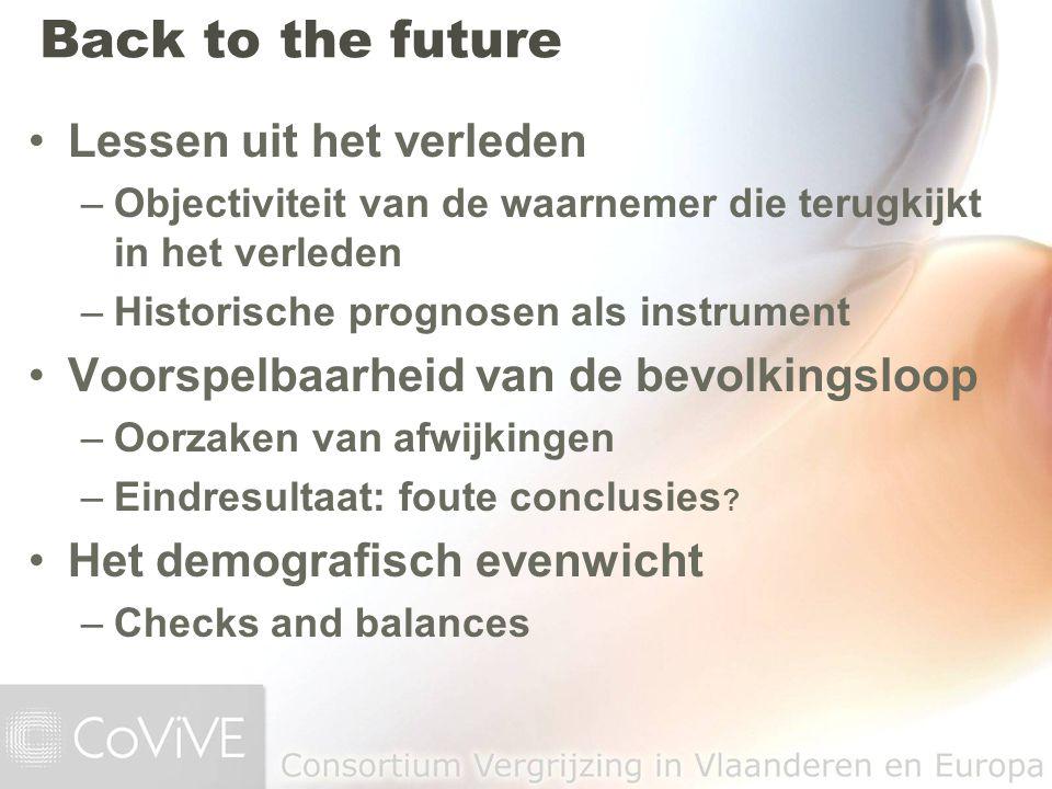 Back to the future Lessen uit het verleden