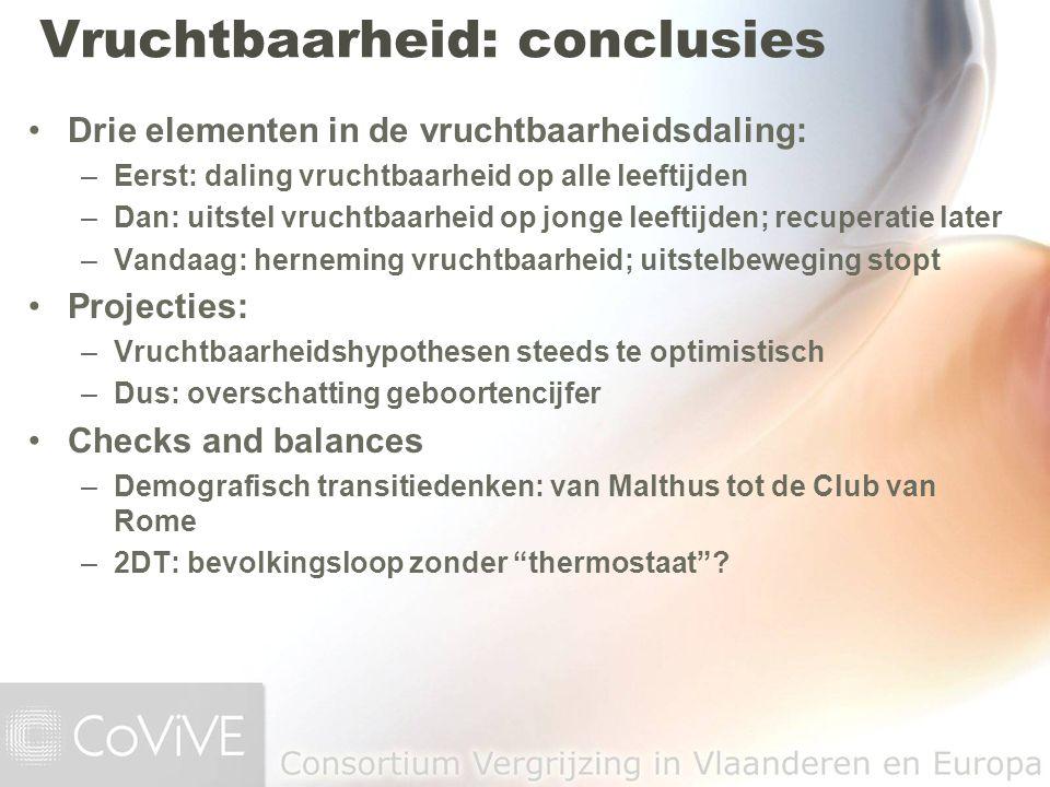 Vruchtbaarheid: conclusies
