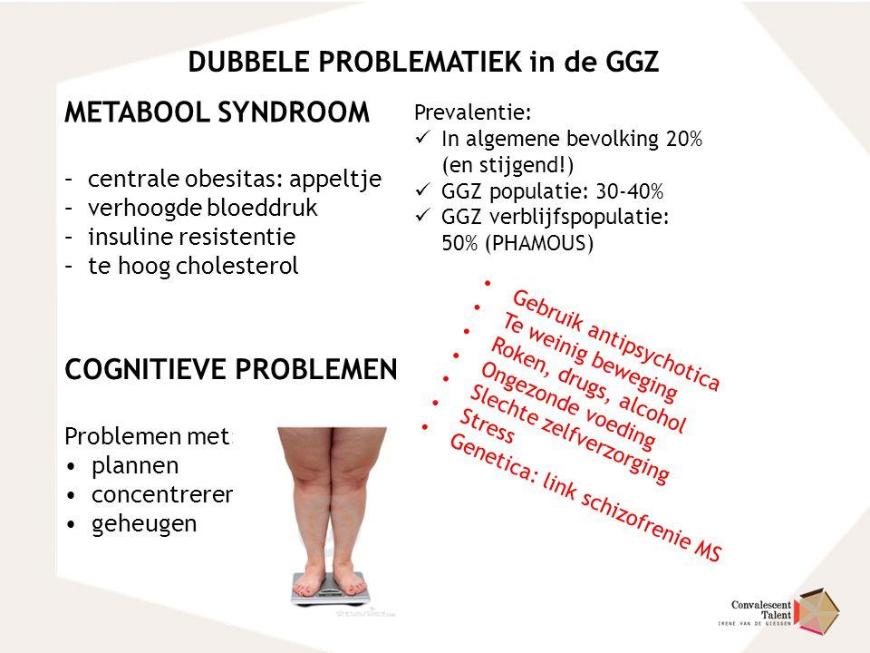 DUBBELE PROBLEMATIEK in de GGZ