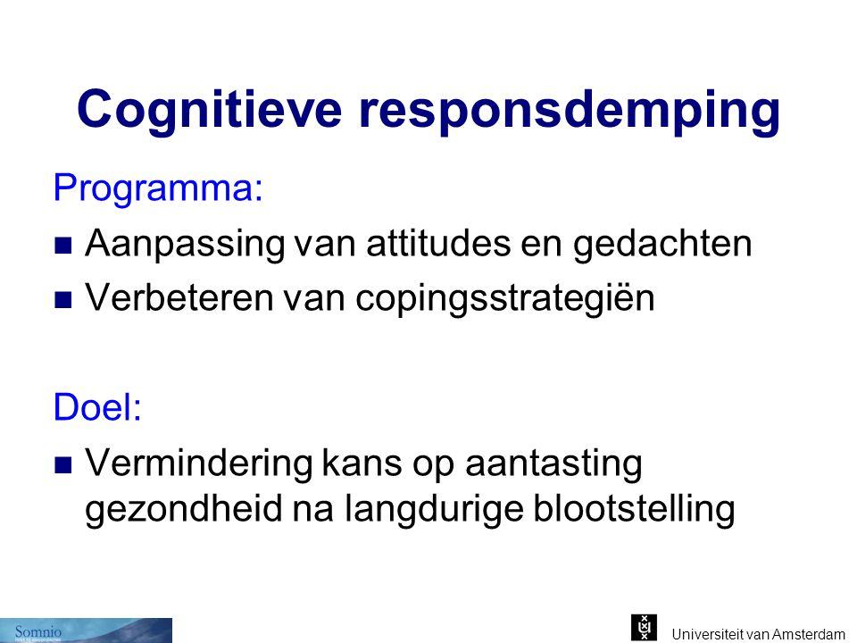 Cognitieve responsdemping