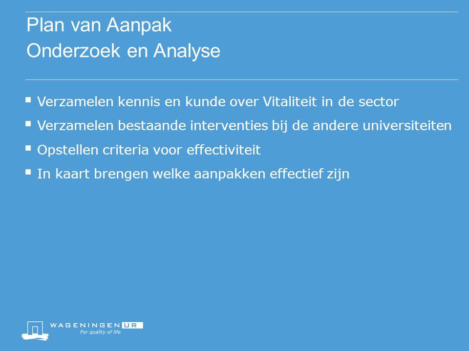 Plan van Aanpak Onderzoek en Analyse