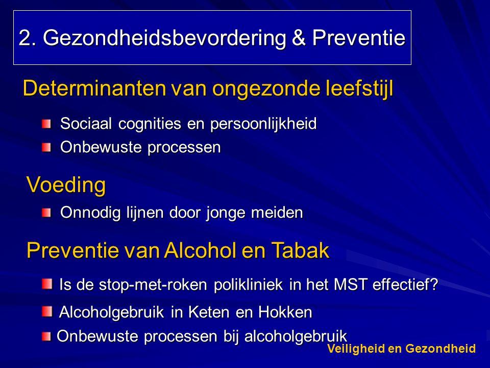2. Gezondheidsbevordering & Preventie