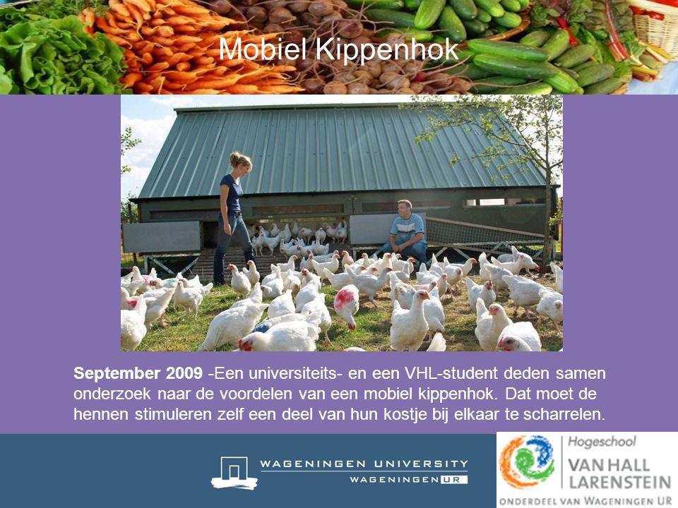 Mobiel Kippenhok