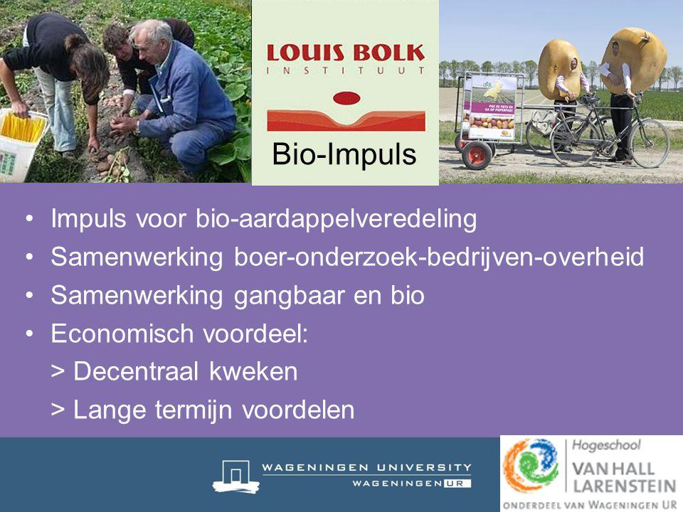 Bio-Impuls Impuls voor bio-aardappelveredeling