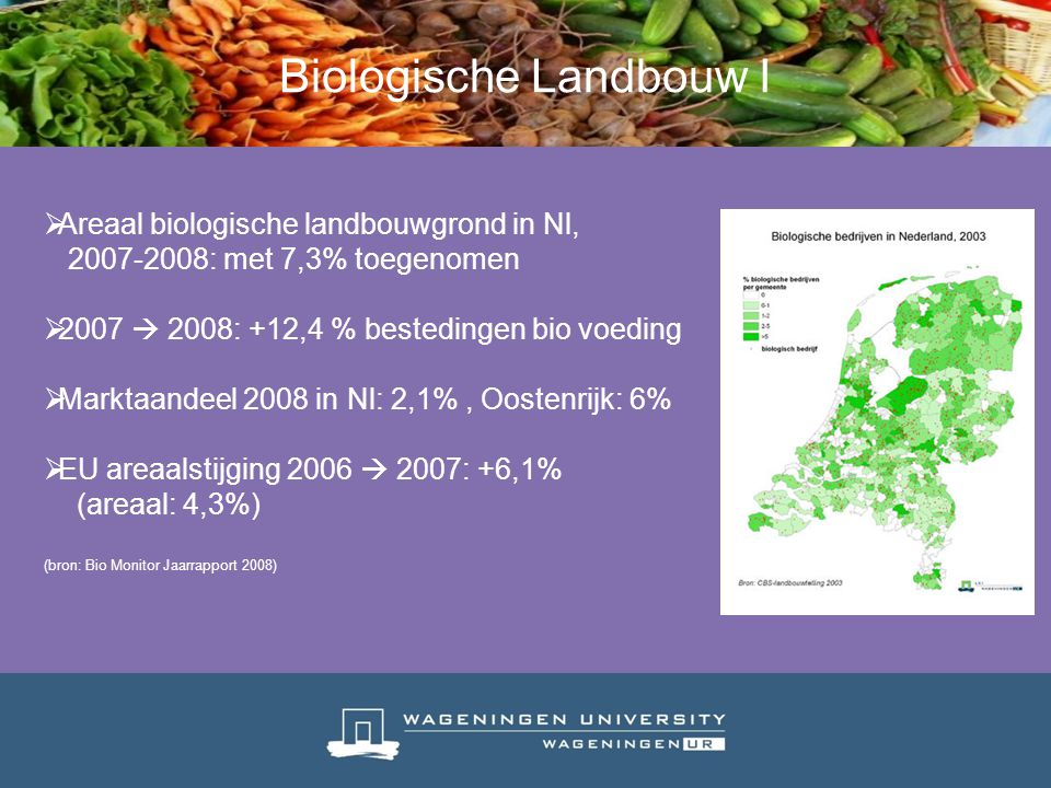 Biologische Landbouw I