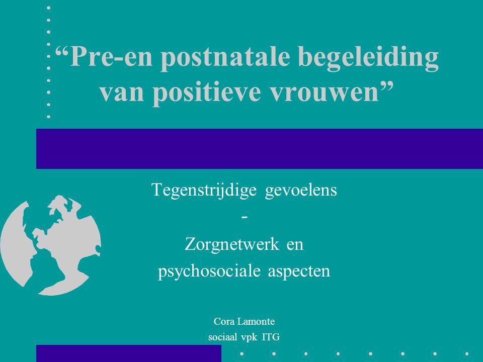 Pre-en postnatale begeleiding van positieve vrouwen