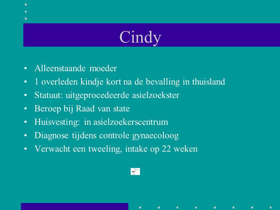 Cindy Alleenstaande moeder