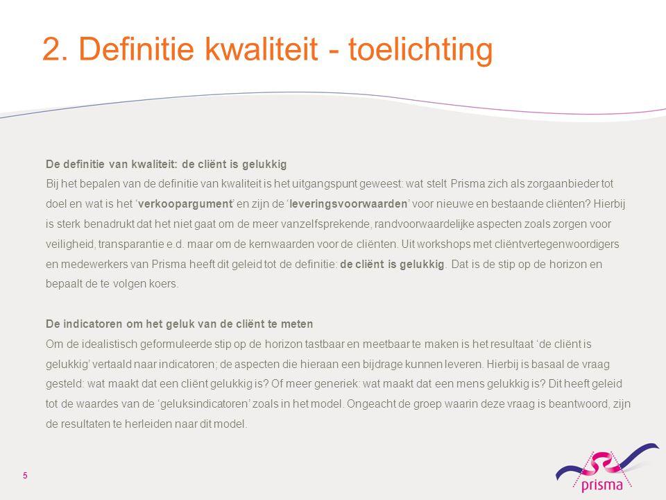 2. Definitie kwaliteit - toelichting