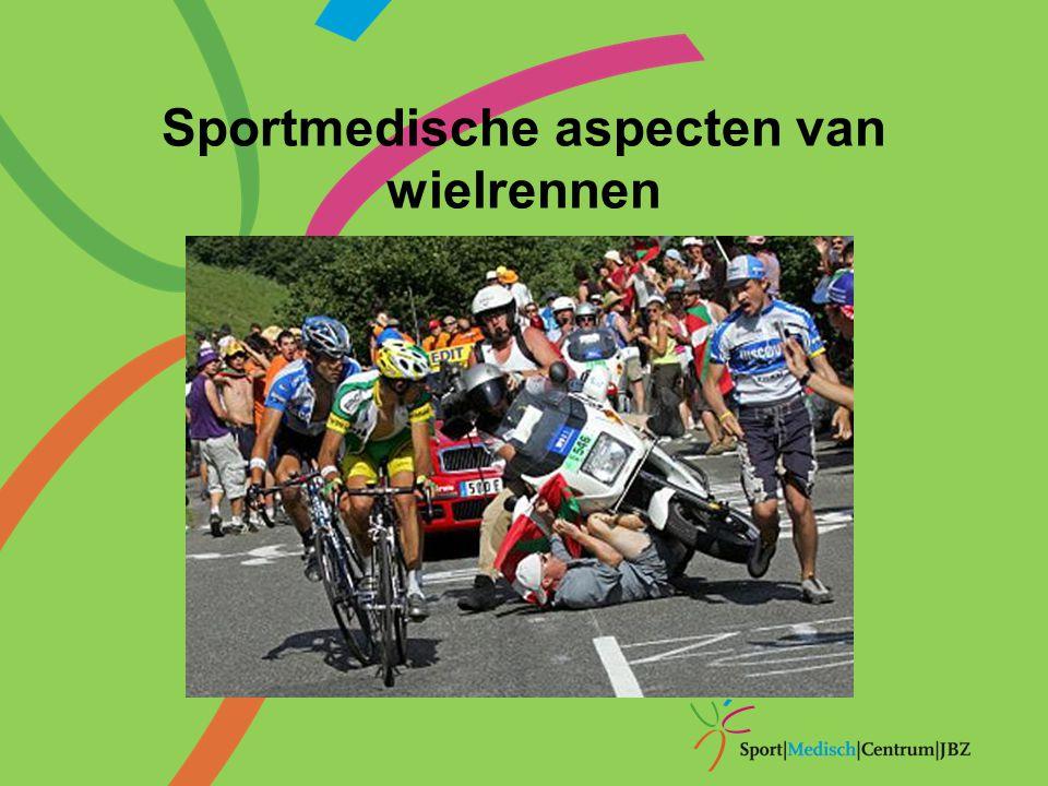 Sportmedische aspecten van wielrennen