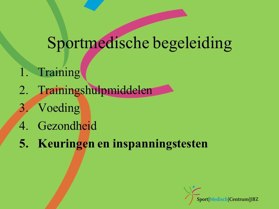 Sportmedische begeleiding