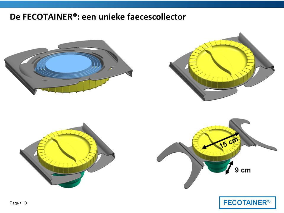 De FECOTAINER®: een unieke faecescollector