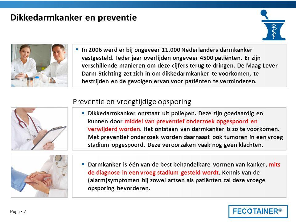 Dikkedarmkanker en preventie