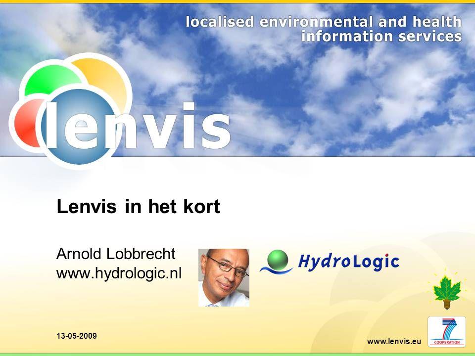 Arnold Lobbrecht www.hydrologic.nl