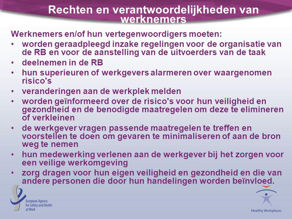 Rechten en verantwoordelijkheden van werknemers