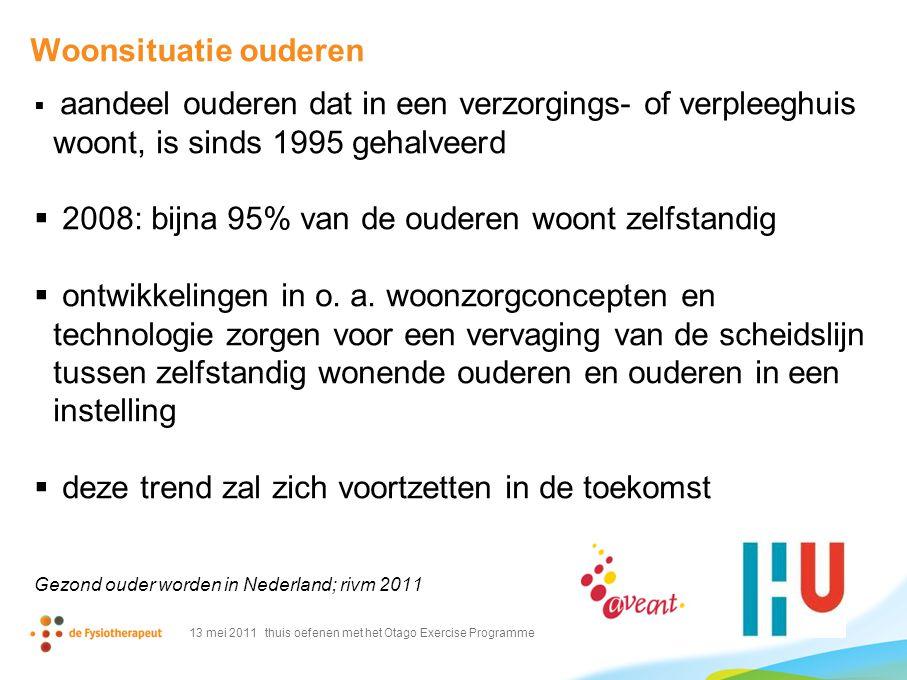 2008: bijna 95% van de ouderen woont zelfstandig