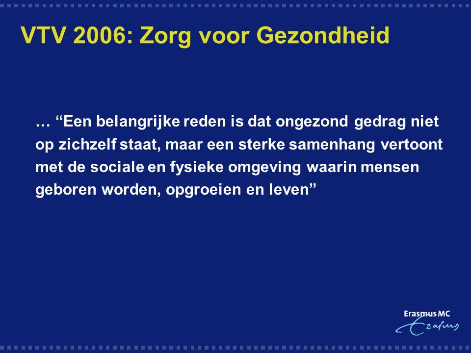 VTV 2006: Zorg voor Gezondheid