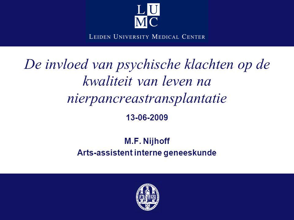 13-06-2009 M.F. Nijhoff Arts-assistent interne geneeskunde