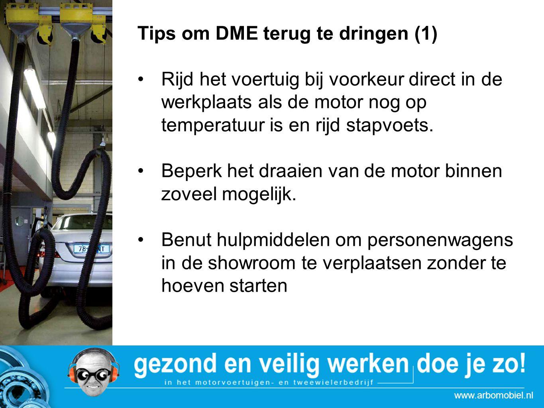 Tips om DME terug te dringen (1)