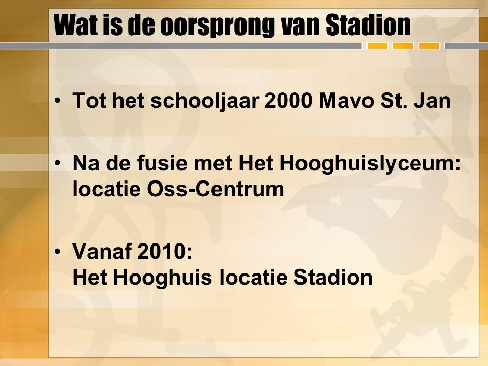 Wat is de oorsprong van Stadion