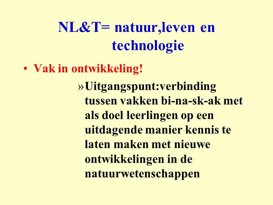 NL&T= natuur,leven en technologie
