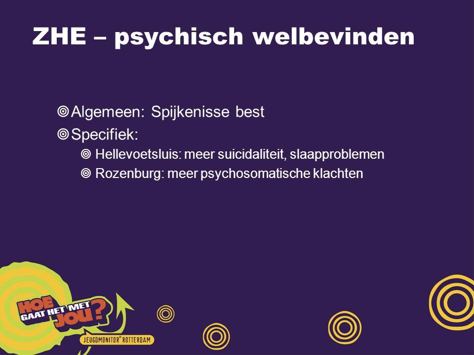 ZHE – psychisch welbevinden