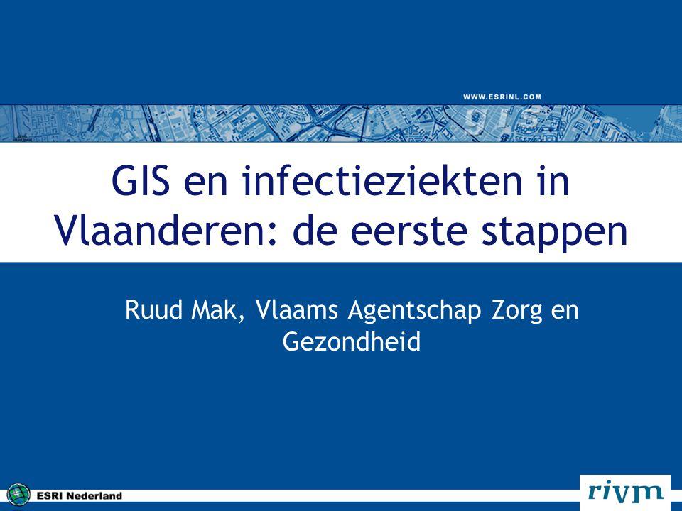 GIS en infectieziekten in Vlaanderen: de eerste stappen
